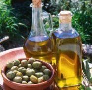 Aceite de oliva de la industria aceitera